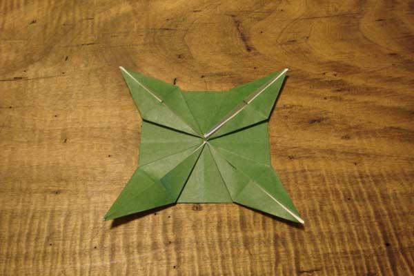 ハート 折り紙 折り紙 勲章 折り方 : divulgando.net