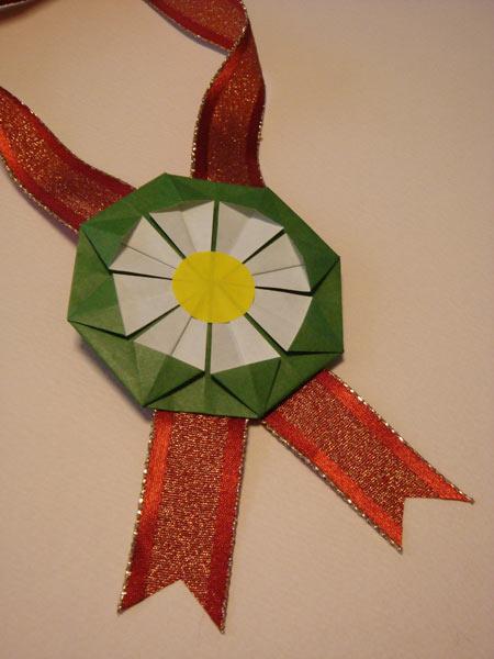 折り紙の 折り紙のメダルの作り方 : utsuwai-blog.cocolog-nifty.com