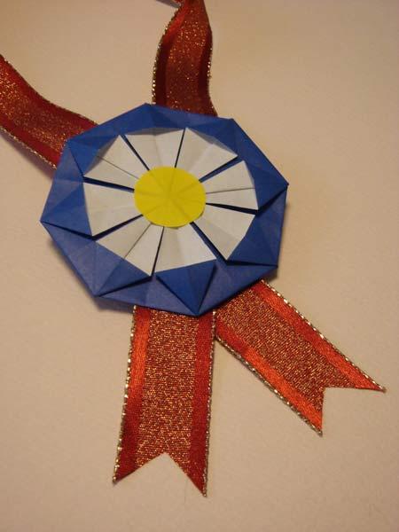 勲章メダルの作り方: うつわい ... : 折り紙メダルの作り方 : すべての折り紙